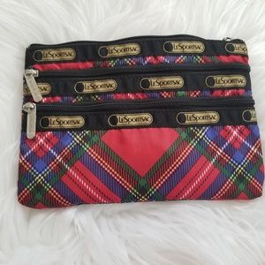 LeSportsac small travelling pouch/makeup bag